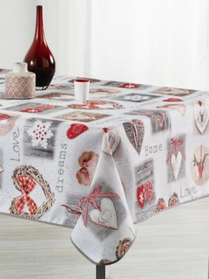 Nappe rectangulaire antitache SAINT VALENTIN