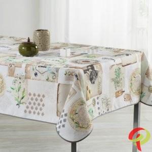 Nappe rectangulaire anti tâche – Fleurs & couleurs Nappe rectangulaire Nappe