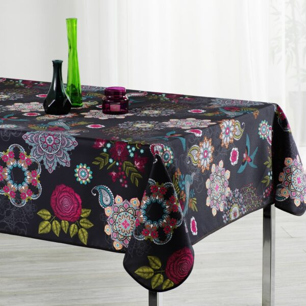 Nappe rectangulaire antitache