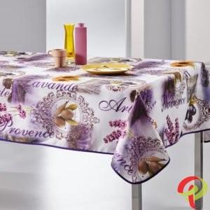 Nappe rectangulaire anti tâche – Provence et Lavande Nappe rectangulaire Nappe