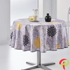 Nappe ronde anti tâche –  Violette Nappe ronde Nappe